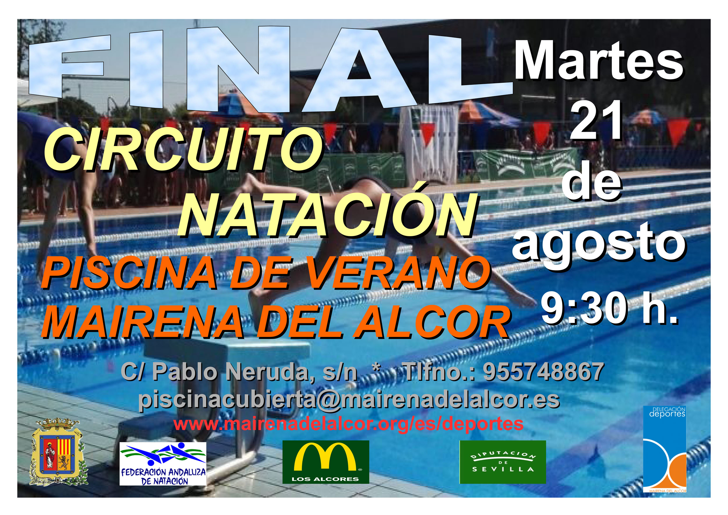 La Final Del Circuito Provincial De Natacion Se Disputa En La